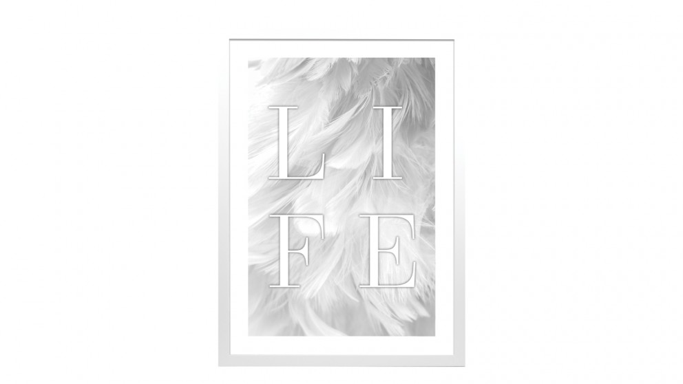 Profile Products Framed Art Peaceful Dove 1 - 60 x 90cm
