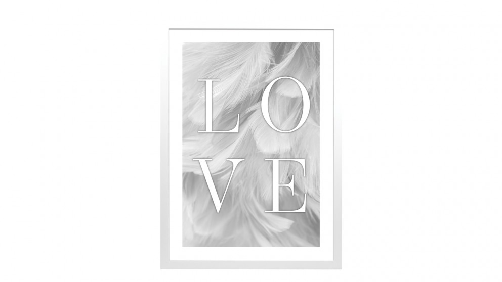 Profile Products Framed Art Peaceful Dove 2 - 50 x 70cm