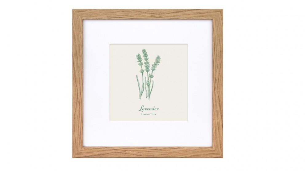 Profile Products Framed Art Botanical Study 1 - 43 x 43cm
