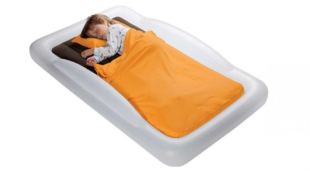 Shrunks Indoor Toddler Travel Bed with Electric Pump