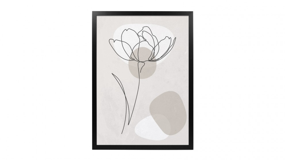 Profile Products Framed Art - Linear Art 1 - 75 x 100cm