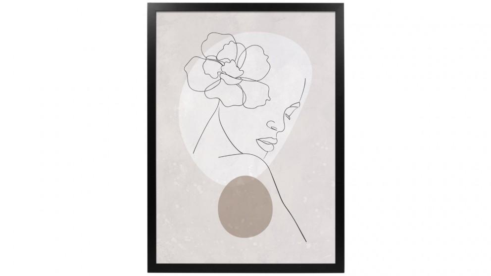 Profile Products Framed Art Linear Art 2 - 50x70cm