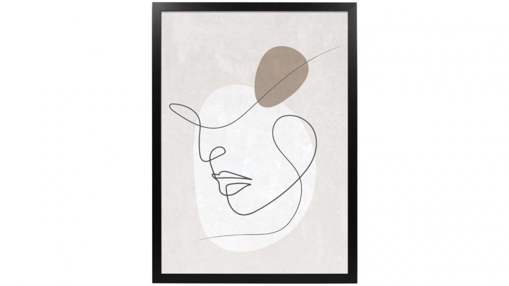 Profile Products Framed Art Linear Art 3 - 50x70cm