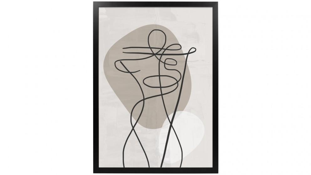 Profile Products Framed Art Linear Art 4 - 50x70cm
