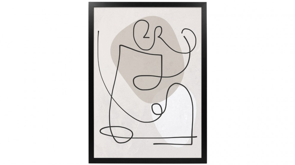 Profile Products Framed Art Linear Art 6 - 75x100cm