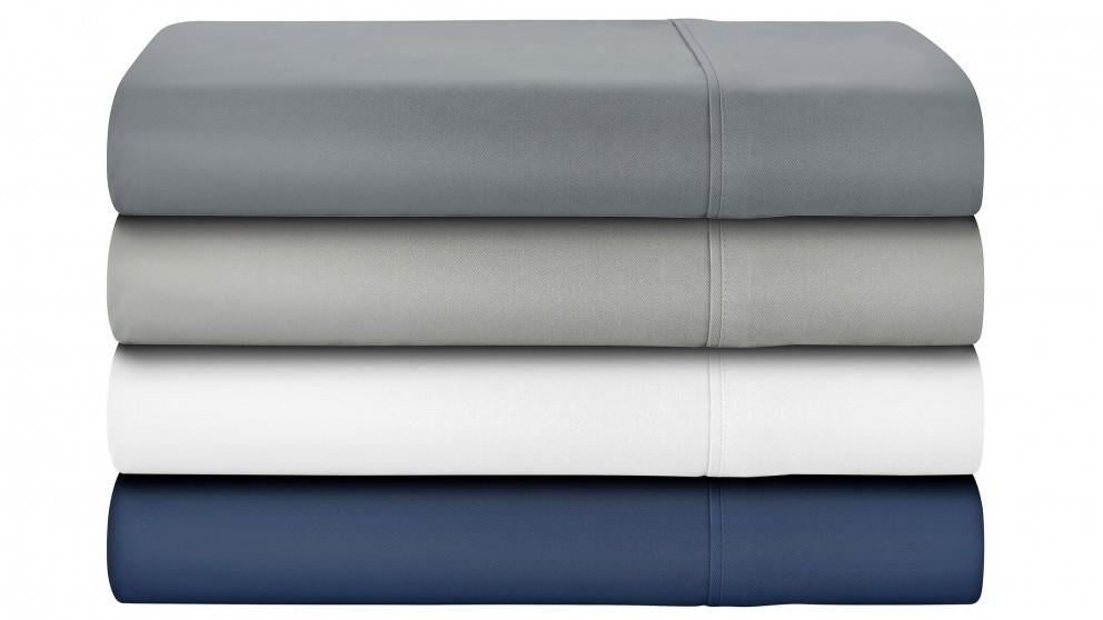 L'Avenue 500 Thread Count Single Sheet Set - White