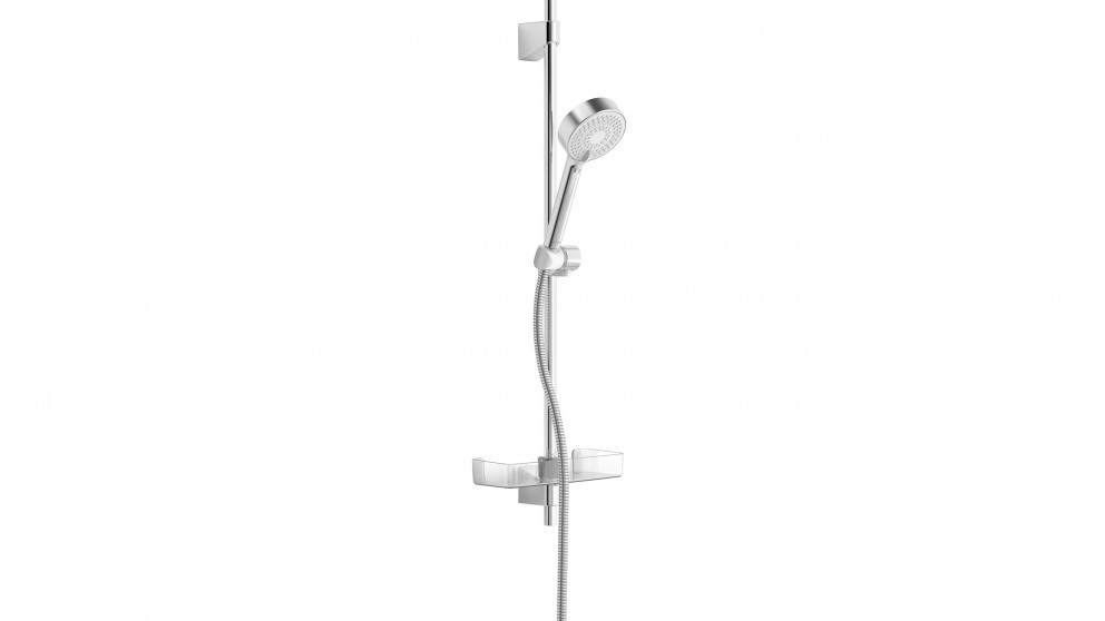 Hansa EcoJet Neu Trio 95mm Adjustable Shower on Rail