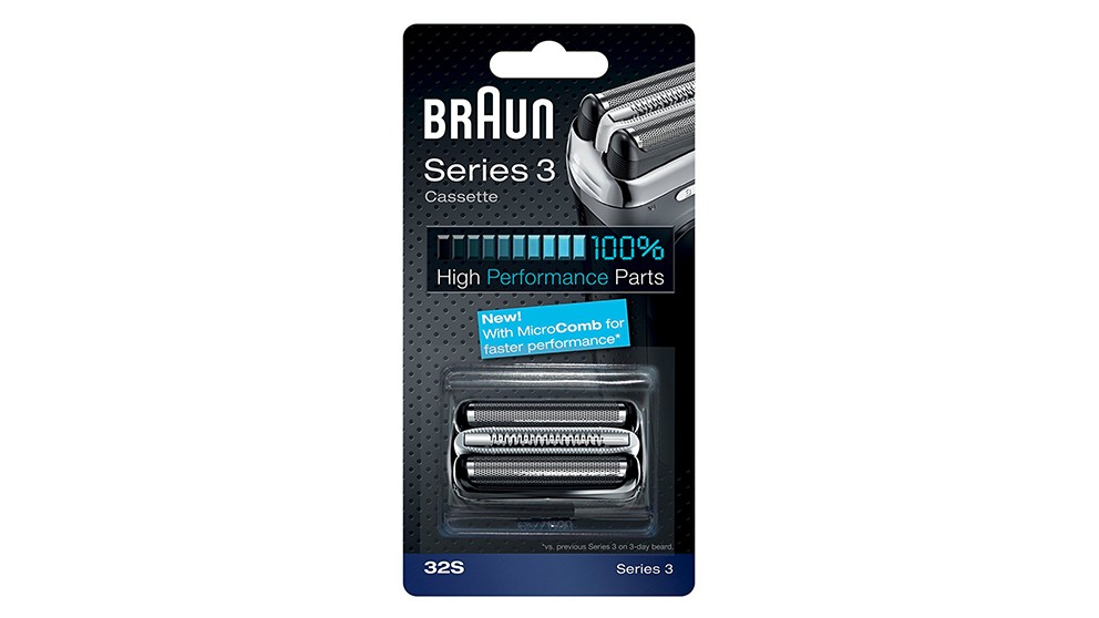 Braun Series 3 32S Multi SIlver BLS Cassette Shaver Foils