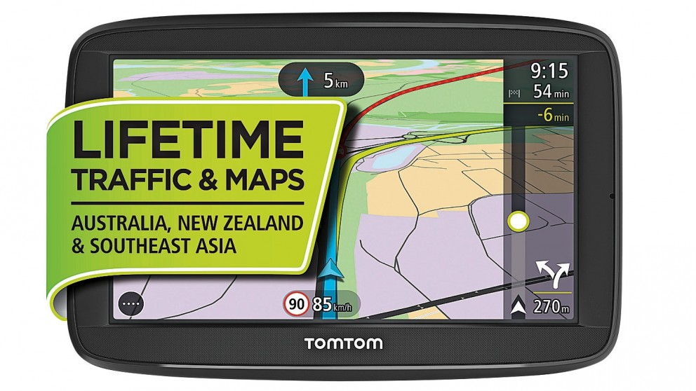 buy tomtom via 52 gps navigator harvey norman au. Black Bedroom Furniture Sets. Home Design Ideas