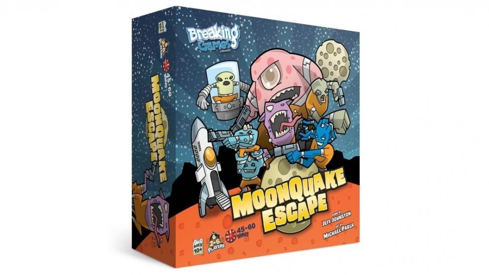 Moonquake Escape Board Game