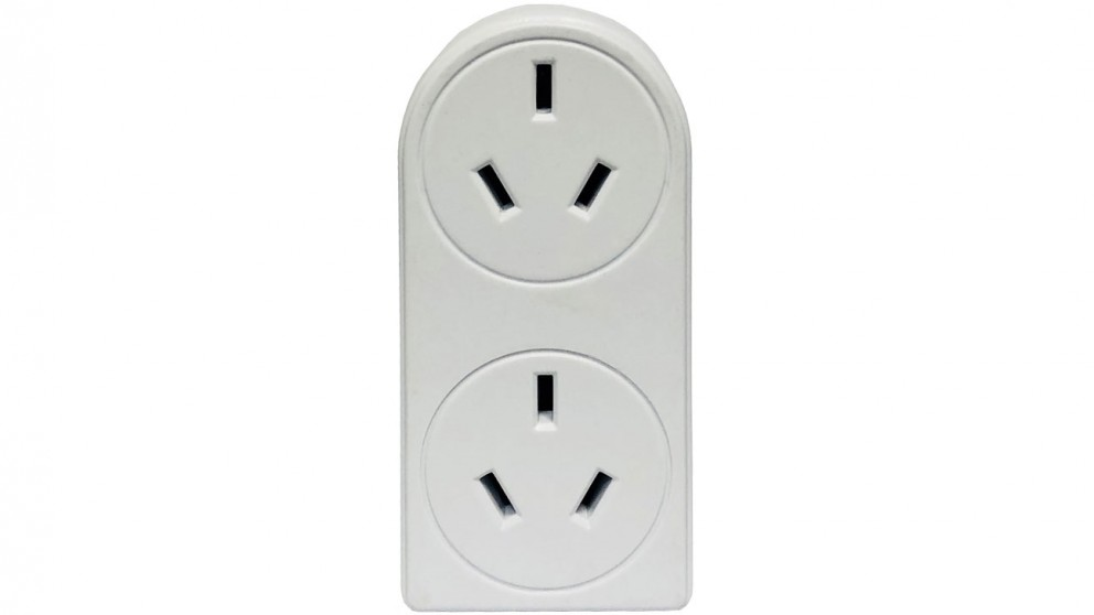 Vanco Power Outlet Vertical Double Adapter