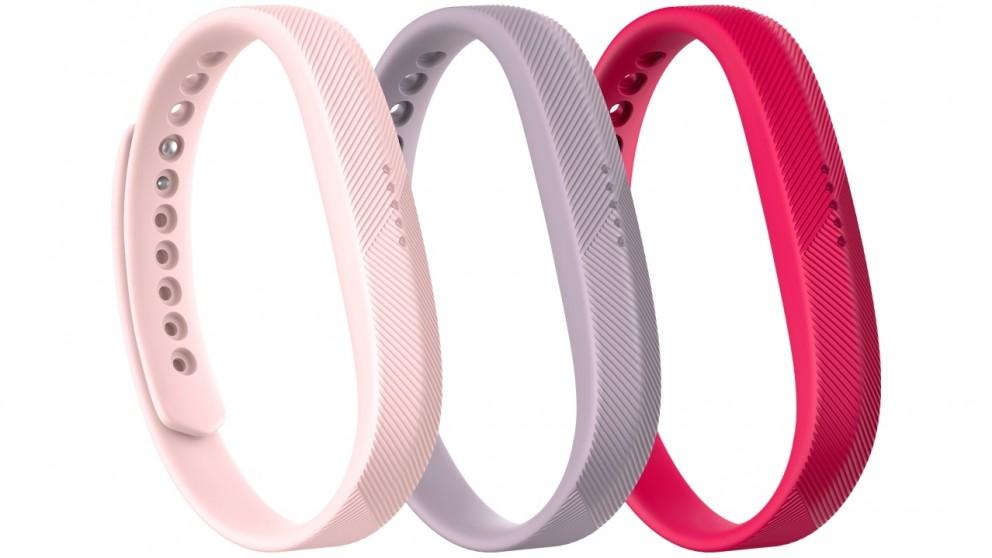 Fitbit Flex 2 3-Pack Pink Classic Wristband