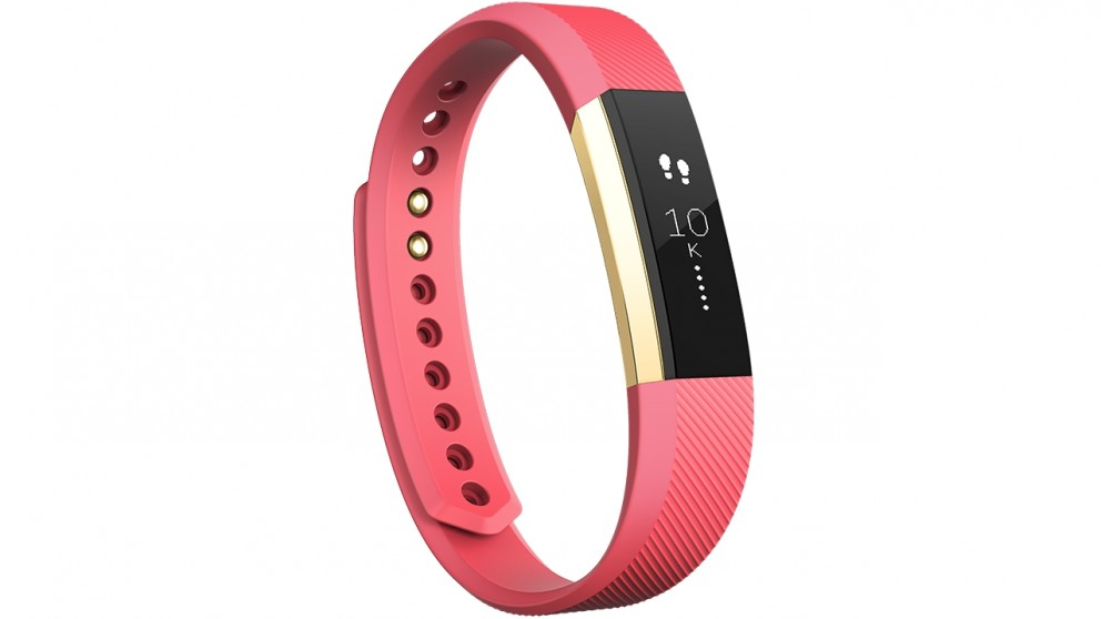 Fitbit Alta Small Fitness Tracker - Pink/Gold