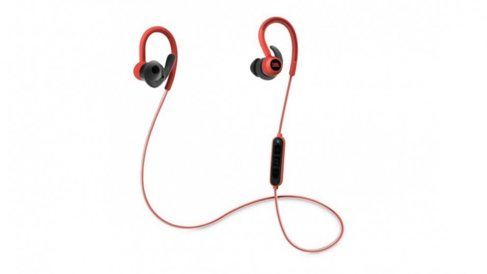 c5c707c9efe Buy JBL Reflect Contour Wireless In Ear Sport Headphone - Red | Harvey  Norman AU