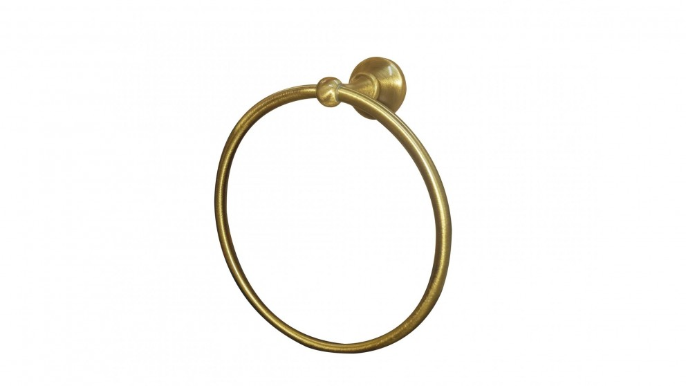 Armando Vicario Provincial Towel Ring - Bronze