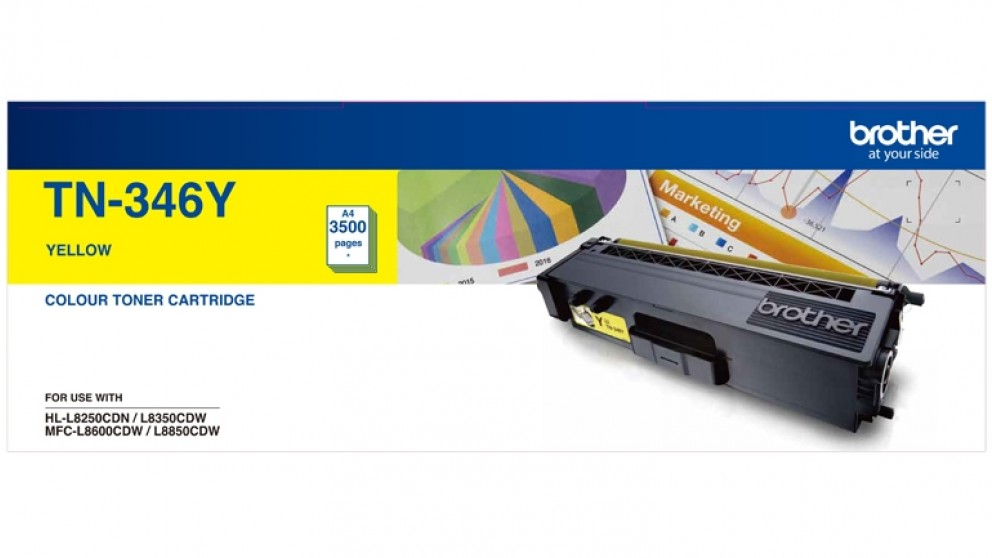 Brother TN-346Y Toner - Yellow