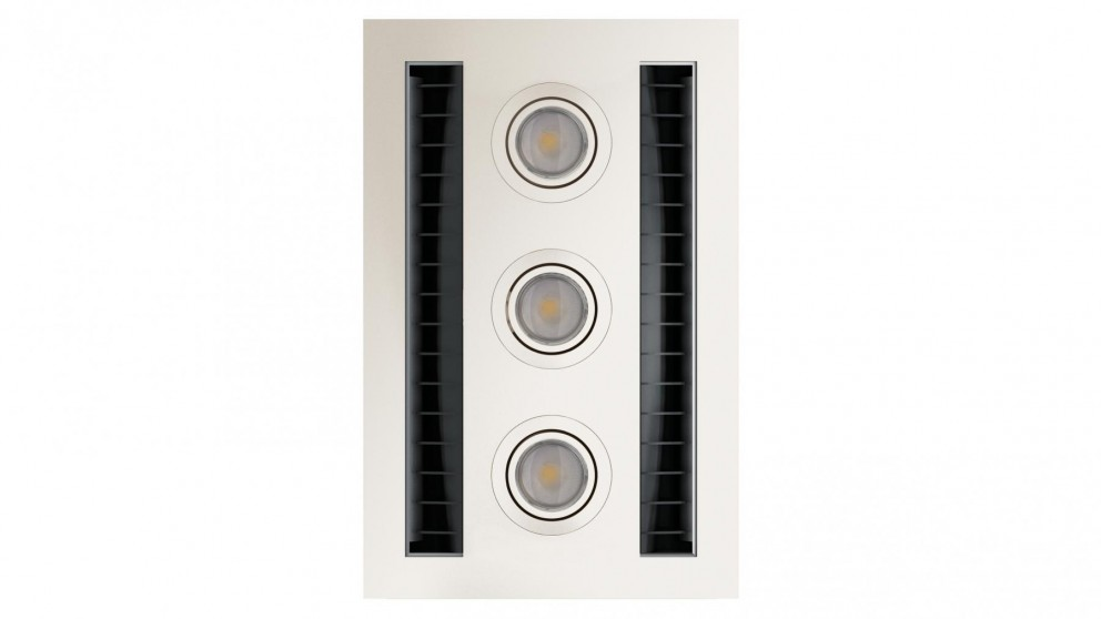 IXL Neo Tastic Vent n Lite Hardwired Module - White