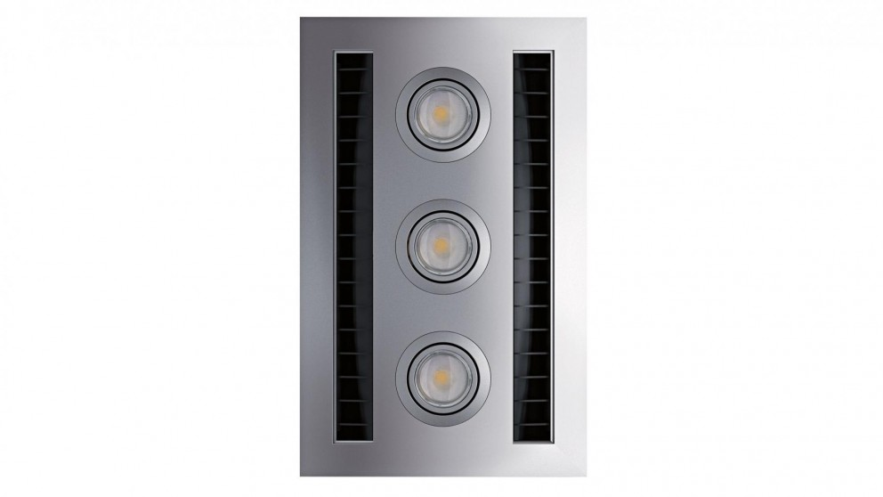 IXL Neo Tastic Vent n Lite Hardwired Module - Silver