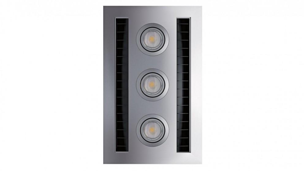 IXL Neo Tastic Vent n Lite Hardwired Module - Silver