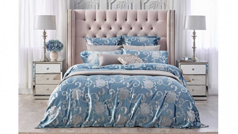 Toulouse Spa Quilt Cover Set - Queen