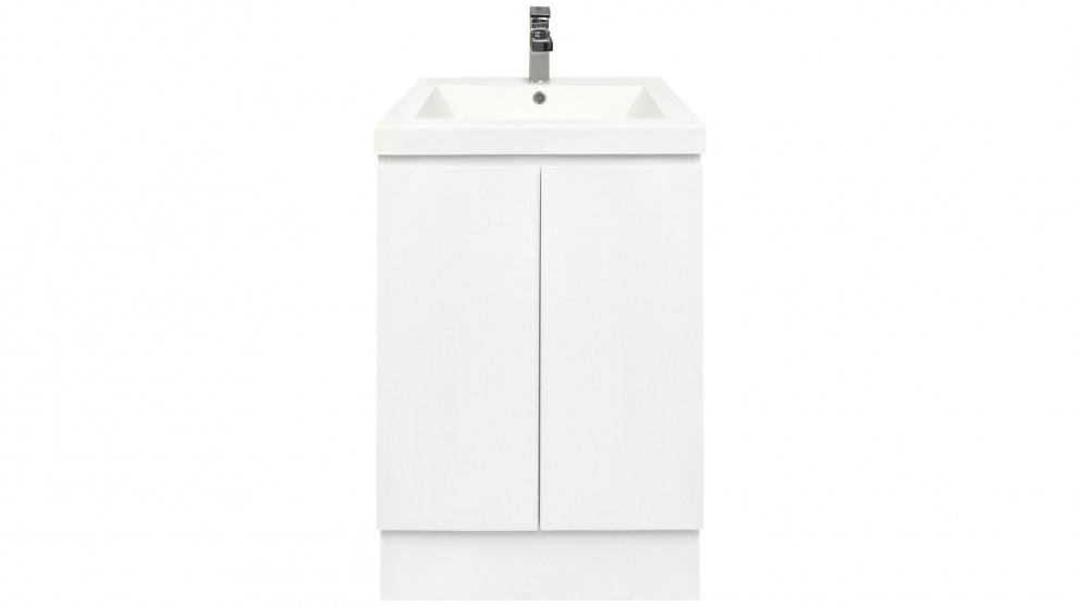 Vanity Bathroom Harvey Norman forme fifth avenue 600mm floor mount vanity - bathroom vanities