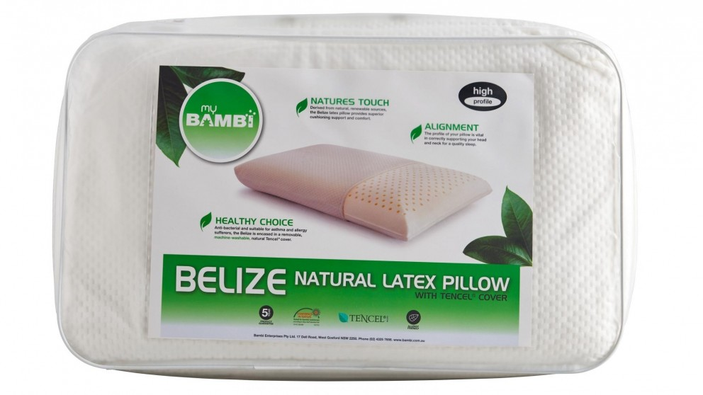 Bambi Belize Natural Latex High Pillow