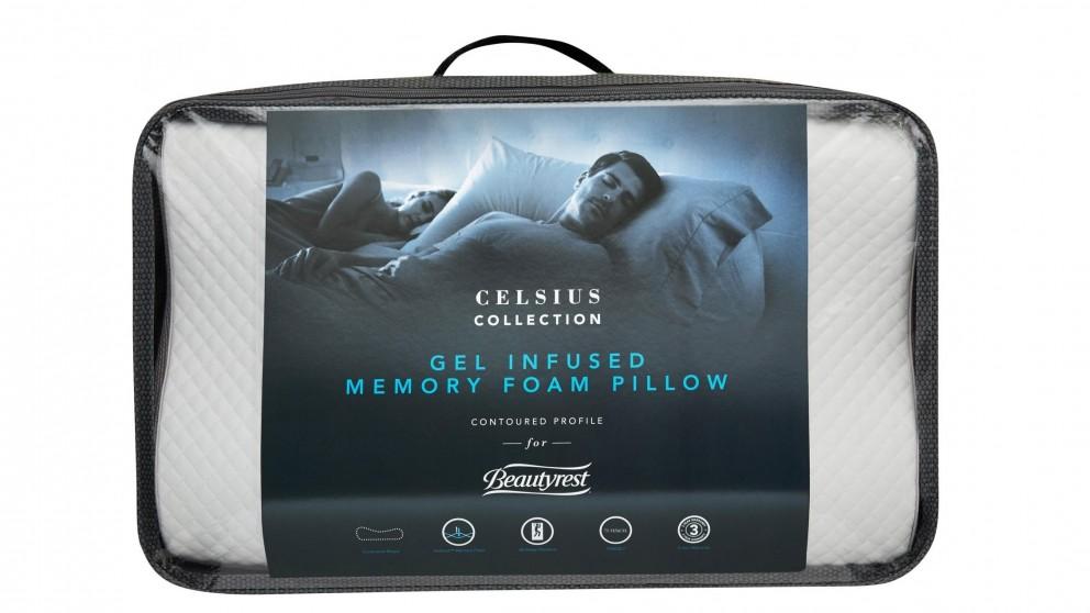 Beautyrest Celsius Gel Infused Pillow - Contour