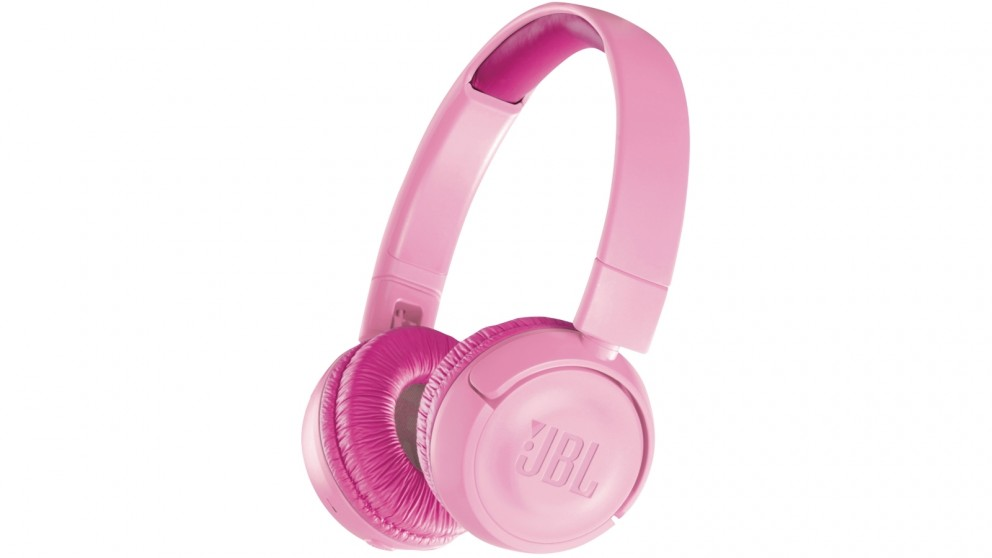 JBL JR300BT Kids Wireless On-Ear Headphones - Pink