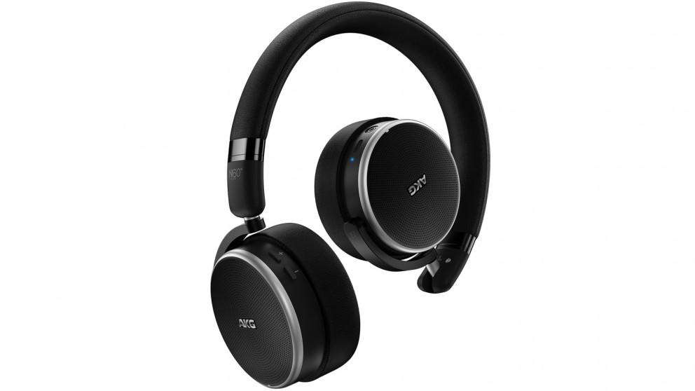 39cf8d5fbd6 Buy AKG N60 NC Wireless Noise Cancelling On-Ear Headphones - Black | Harvey  Norman AU
