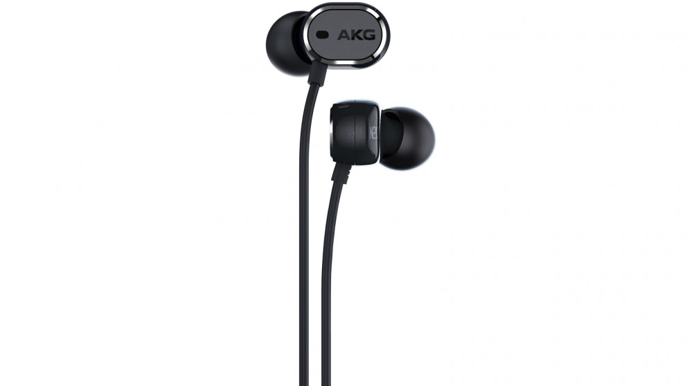 AKG N20 NC Active Noise Cancelling In-Ear Headphones - Black