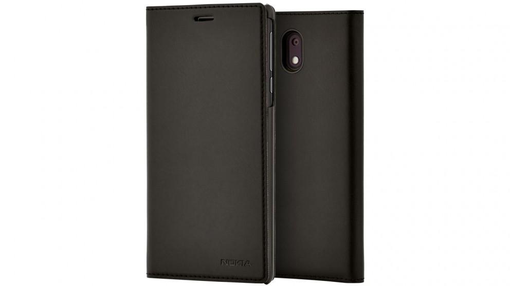 Nokia 3 Flip Cover - Black