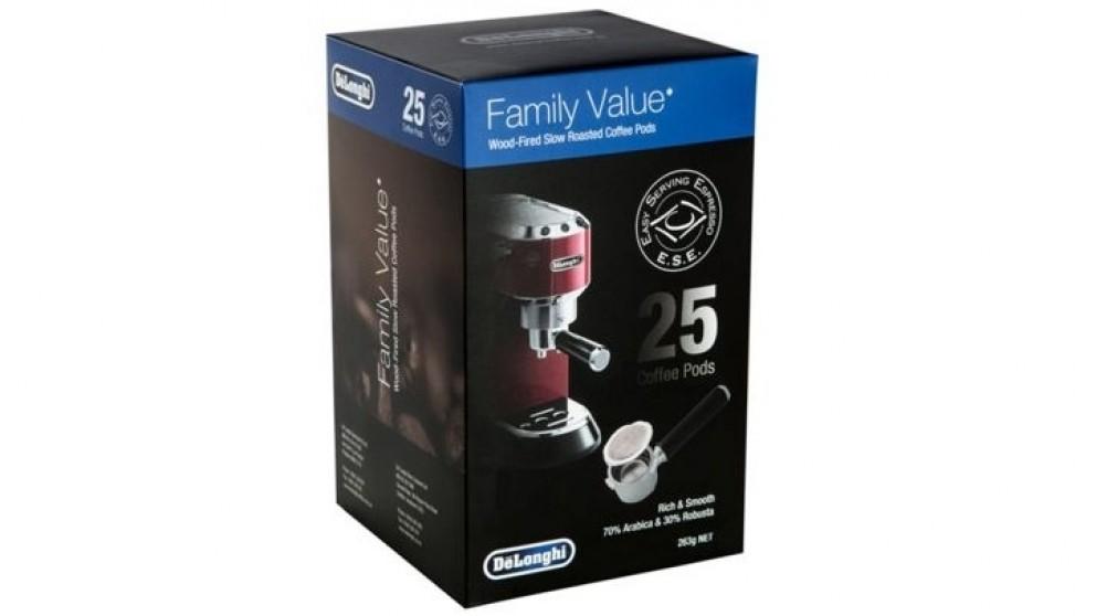 DeLonghi E.S.E Coffee Pods Capsule - 25PK - Coffee Capsules ...