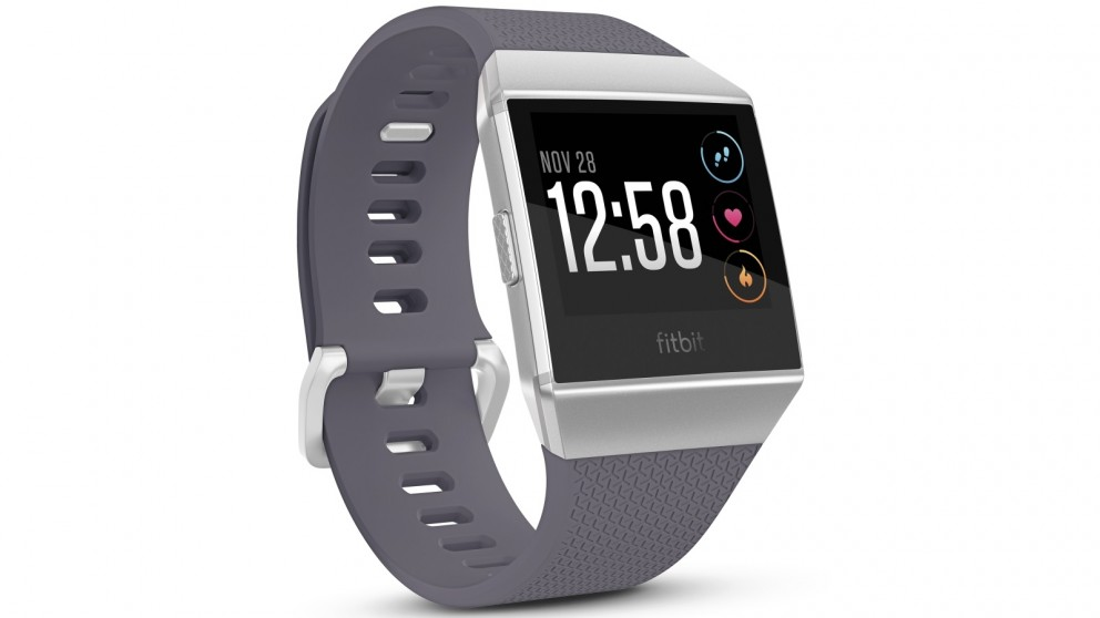 Fitbit Ionic Fitness Watch - Blue Grey/Silver