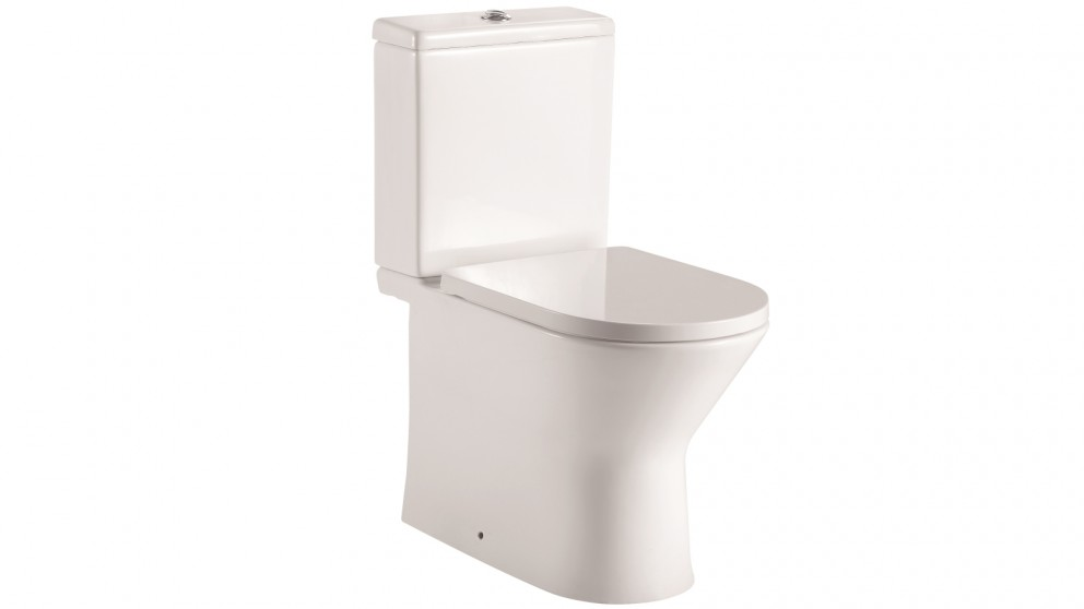 Gareth Ashton Lucia Rimless Wall Faced Universal Toilet Suite with Soft Closed Seat