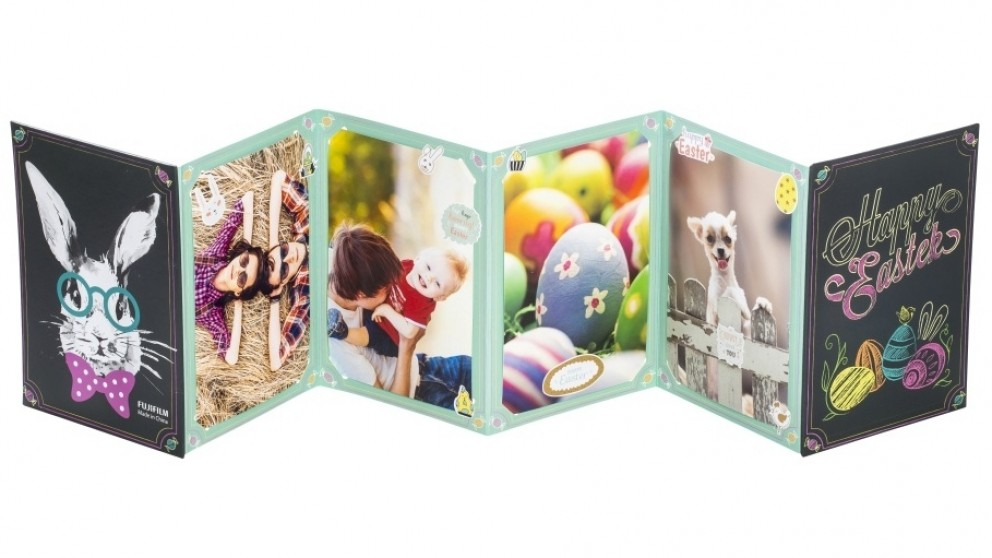 """Instax 6"""" x 4"""" Accordion Photo Frame - Easter"""