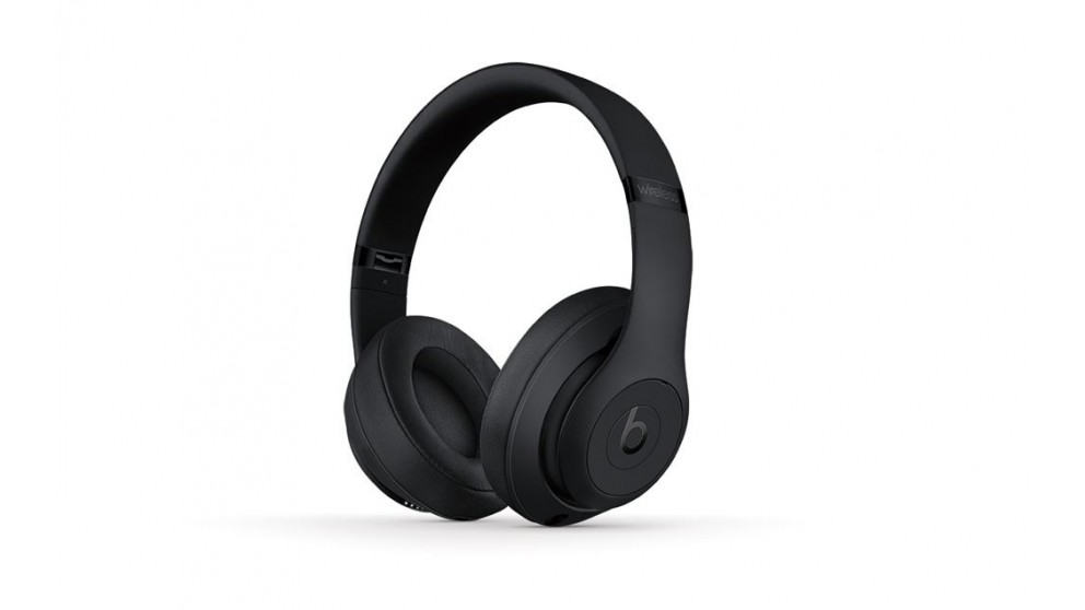 a6ac930aa6a Buy Beats Studio3 Wireless Over-Ear Headphones - Matte Black | Harvey Norman  AU