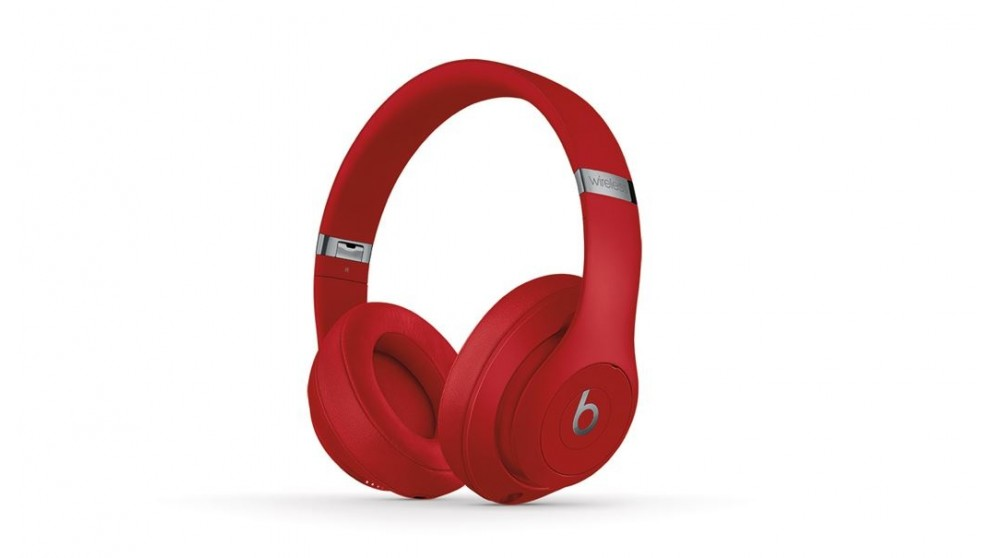 buy beats studio3 wireless over ear headphones red harvey norman au. Black Bedroom Furniture Sets. Home Design Ideas