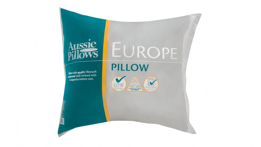 Aussie European Pillow