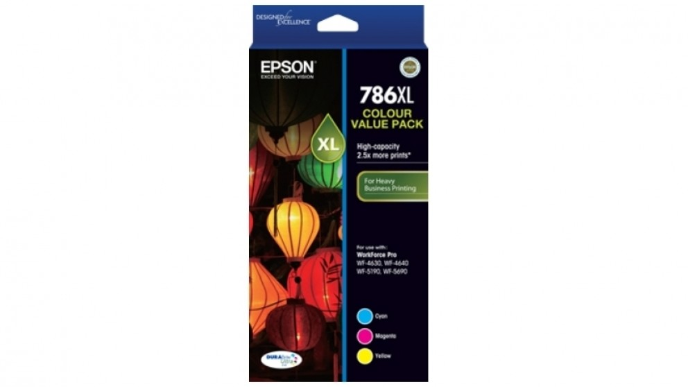 Epson 786XL DURABrite Tri Colour Ink Cartridge