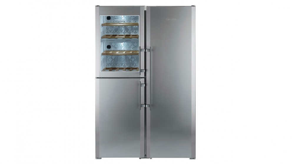 Liebherr 688L Side-by-Side Fridge with Dual-Zone Wine Compartment