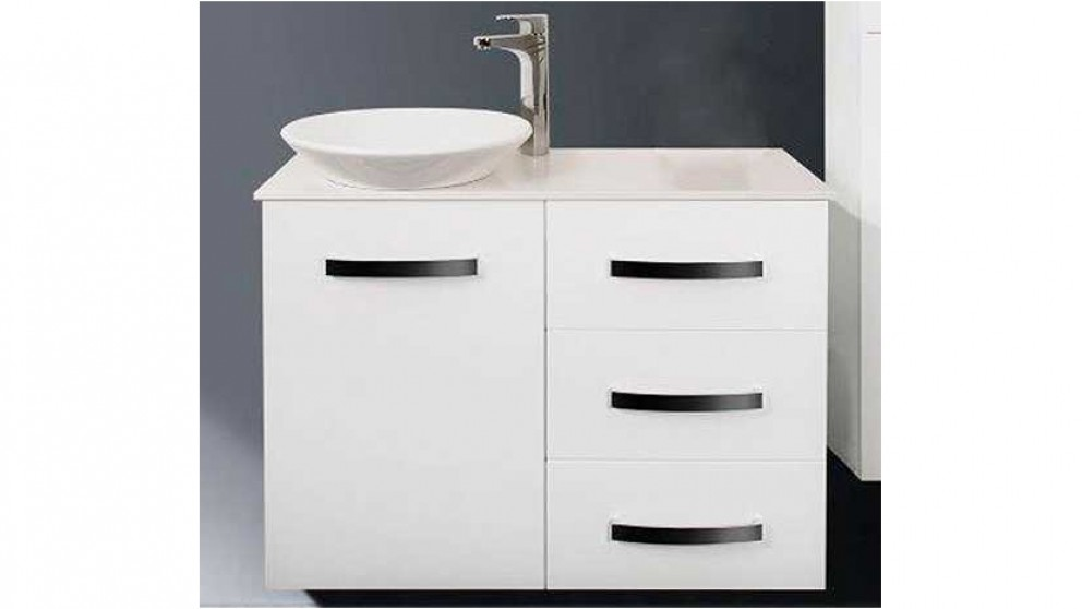 Ledin Ricci 900mm Solid Surface Ensuite Vanity