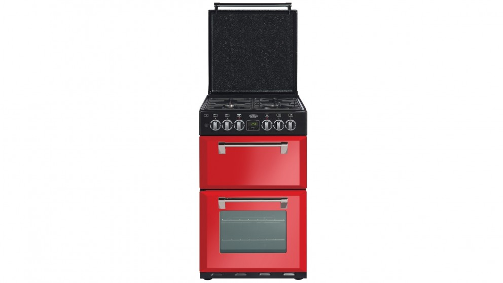 Belling 540mm Mini Richmond Freestanding Range Cooker - Red