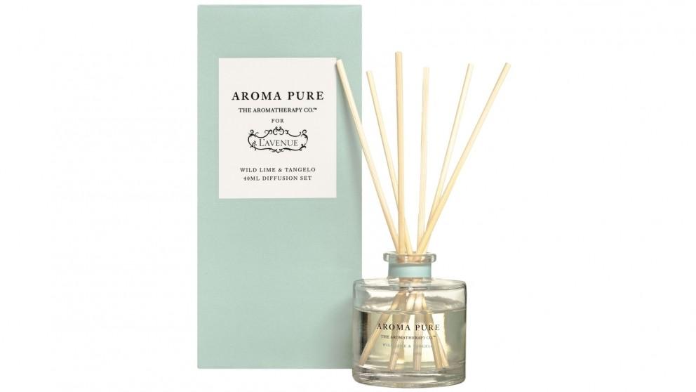 L'Avenue Aroma Pure Diffusion Set - Wild Lime & Tangelo
