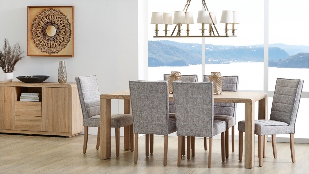 mantra 7 piece dining setting - dining furniture - dining room