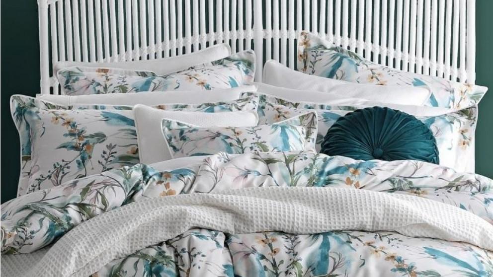 Snowgarden Teal European Pillowcase