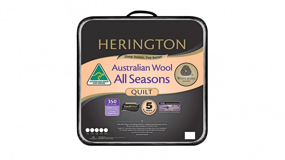 Herington All Seasons Quilt - King