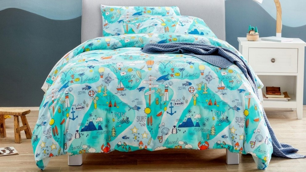 Waterworld Quilt Cover Set