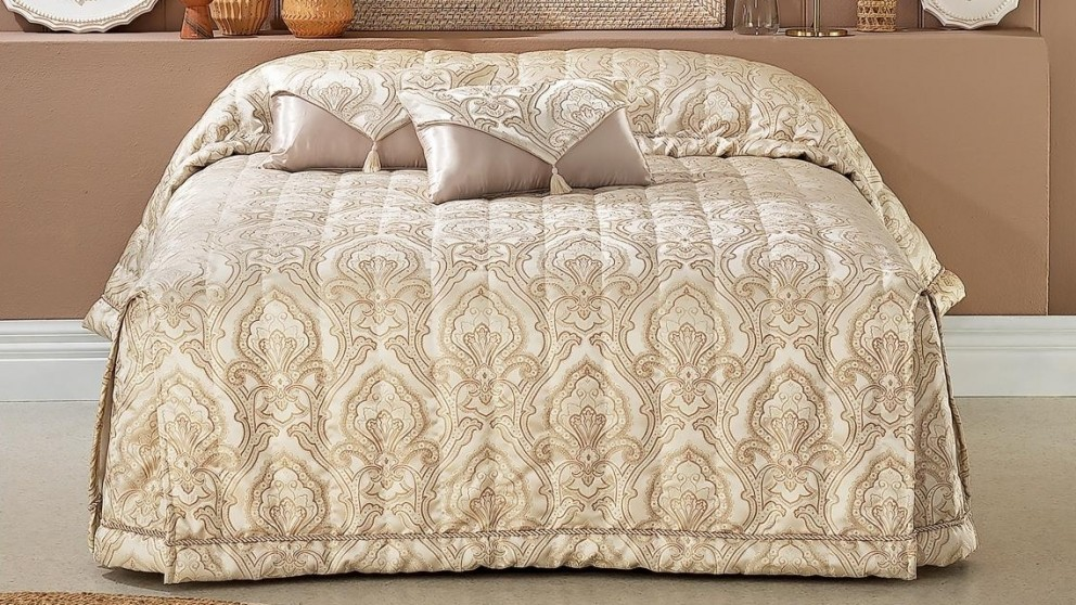 Francesca Gold Bedspread