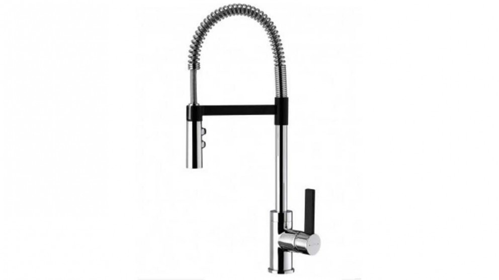 Methven Culinary Gaston Gooseneck Pull Down Kitchen Mixer - Black