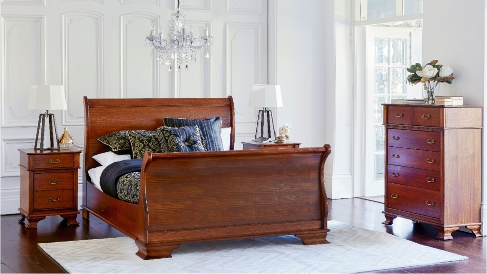 Emerson High Foot Queen Bed